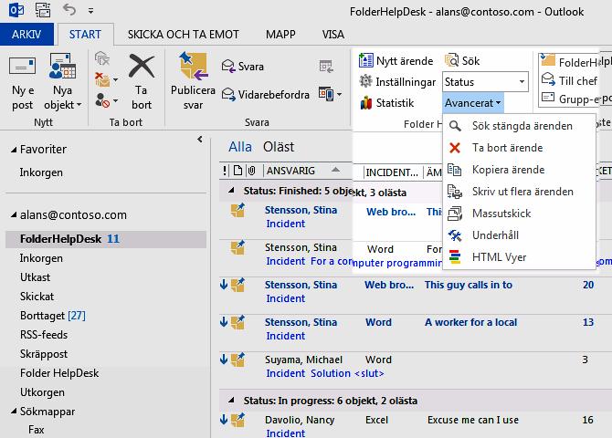 FolderHelpDesk Screenshot
