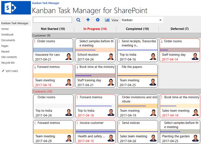 Kanban Task Manager Screenshot