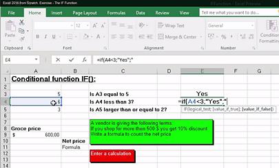 kalmstrom.com Excel exercise
