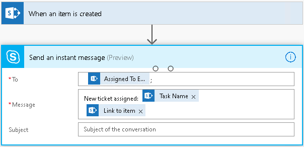 Flows that merge forms data into one SharePoint Tasks list