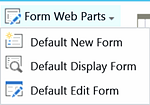 Customize list forms