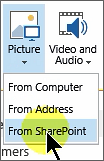 Insert image from SharePoint