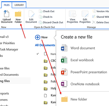 Categorize with Folders in SharePoint Libraries - a SharePoint