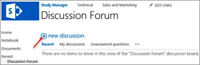 New discussion icon