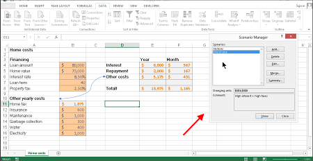 Excel recommended charts