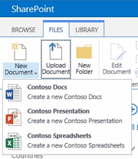 Library templates with sharepoint 2013 content types for Sharepoint 2013 document library template