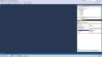 Visual Studio Add
