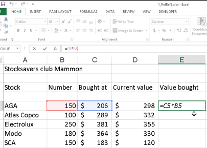 Excel formula to calculate bitcoin trading profit