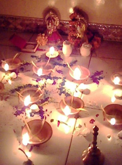The Deepawali festival is celebrated by Hindus all over the world