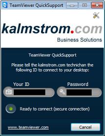 TeamViewer dialog