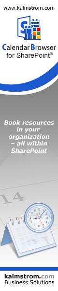 Calendar Browser for SharePoint banner