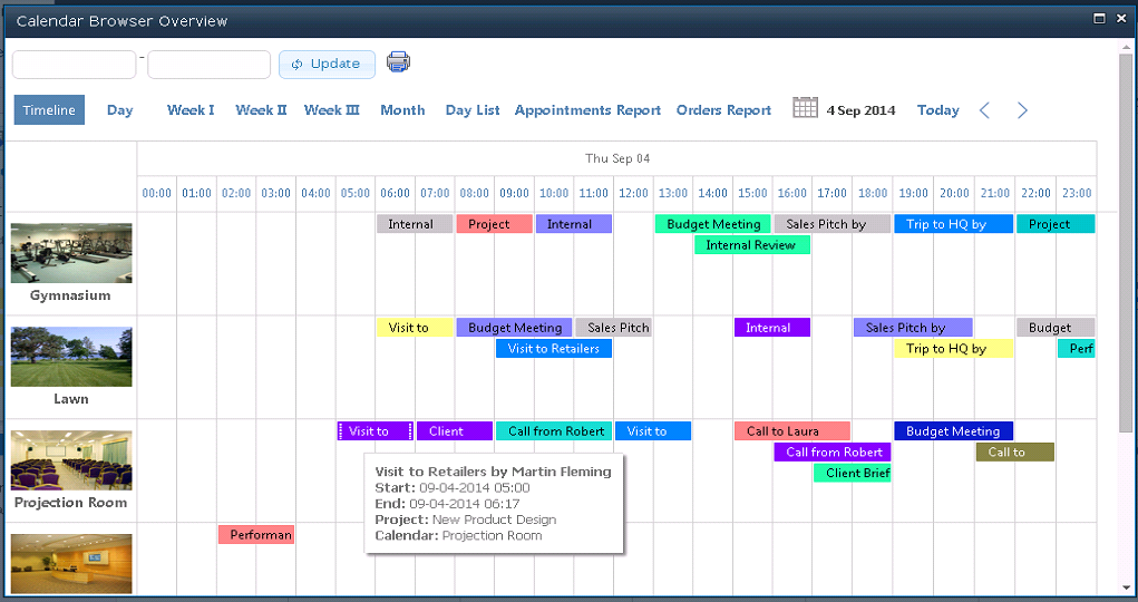 Weekly Calendar View Sharepoint : Calendar browser for sharepoint reach the corporate