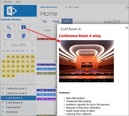 Calendar Browser for SharePoint
