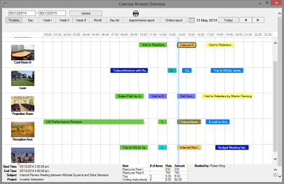 Click to view Calendar Browser screenshots