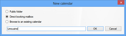 Calendar Browser Add Calendar Dialog